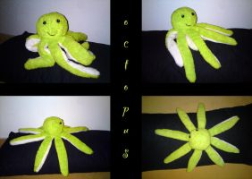 green octopus plush by nfasel