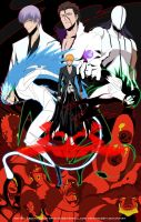 BLEACH Poster (Thanks for 10,000 Pageviews) by Creative2Bit
