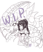Unison League Character Wip by Vamps2Bats