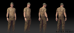 After Reset RPG models MALE CHARACTER 2 by blackcloudstudios