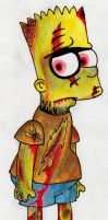 Zombie Bart Simpson... by Beth182