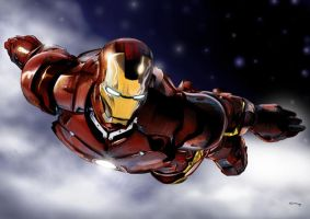 Iron Man Color by teach