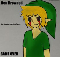 GAME OVER ((BEN Drowned)) by Maddimrw420