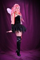 gothic fairy pink2 by RinaMx