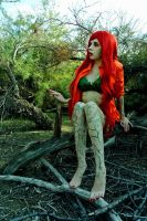 Poison Ivy: Botanical Touch. by kay-sama