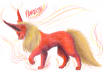 Flareon by CheezieSpaz