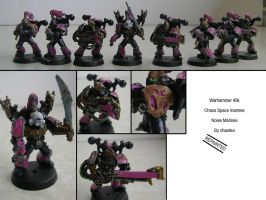 Noise Marines (Repainted) by chaotea