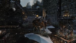 Windhelm Graveyard by lupusmagus