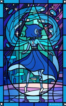 Stained Glass Lapis by Bakenius