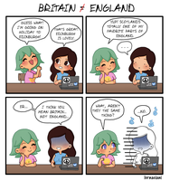 Britain ain't England by VoxVulpina