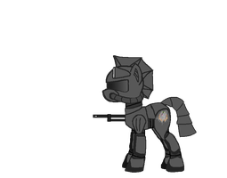 Fallout Equestria OC concept by Alden-the-Fox