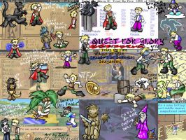 Quest for Glory WP-Zarla by deviantquest