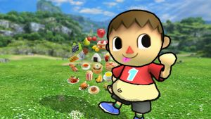 Chubby Villager HD by rabbidlover01