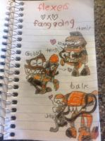yaoi Mixels - Flexers X Fang Gang by thedrksiren