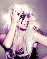 Telephone by hellotherelily