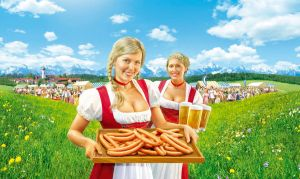 Bavaria world by illugraphy