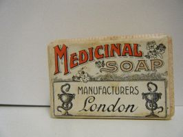 Art Noveau Medicinal Soap 1 by krossbett