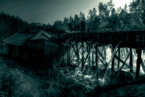 ..the old sawmill II... by Espen-Alexander