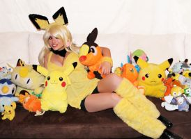 Pichu 05 by HeatherCosplay