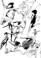 Dance studies by philho