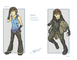 Rikki Design sheet by ReNStudios