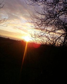 sunset..my lovely by infamousXrealityX
