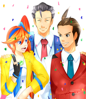 Ace Attorney - Not Guilty! by Minouze