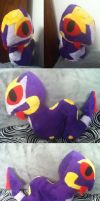 Seviper OC Plush by GlacideaDay