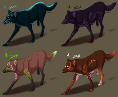 Point Adoptables II - ALL SOLD by Night-Anders