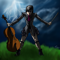 Halloween Octavia by BIG-MAC-115