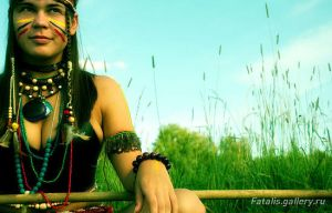 The woman of Aztecs - 3 by Fatalis-Polunica