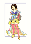 Steampunk Snow White in color by khallion