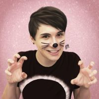 Dan Howell by DraconaMalfoy