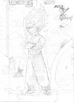 Vegeta by stripmakerF