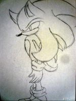 Sonic turns Super--UNCOLORED-- animation by iheartsonic