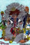 Game Of Hearts The Keyblade Throne by AuronTsubaki1985