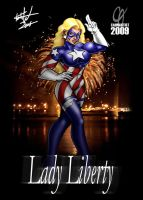 Lady Liberty by Cahnartist