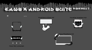 Kaws x Android Suite by kgill77