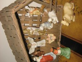 Nativity Scene 3 by GreenEyezz-stock