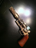 Narcoparalytic Induction Pistol by Grumbleputty