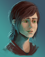 Ellie - The Last Of Us by o0Syringes0o