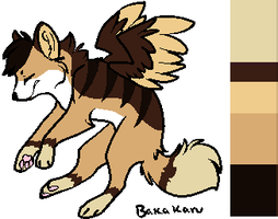 Winged Wolf Design Auction -OPEN- by Twine-Adopts