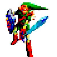 Pixel Link 2 by elfofcourage