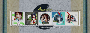 140407 4MINUTE ICON SET by YUWEI2304