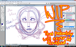 Persona 3 Ryoji WIP by bad-exposition