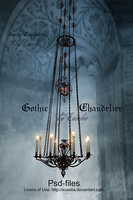 Gothic Chandelier by Euselia