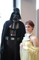 Padme and Vader by GrimildeMalatesta