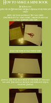 How to make a Mini Book by kyra10987