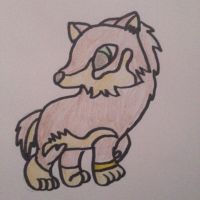 Chibi link (wolf) by BalloonGirl1987