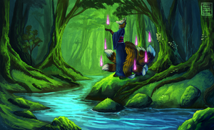 Rin and the River by Stalcry